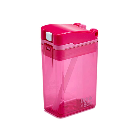 Drink-in-the-Box (NEW DESIGN!) 8oz Reusable Drink Box: Pink