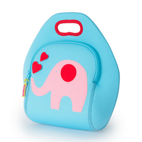 Dabbawalla Trunk Show Elephant Washable Lunch Bag