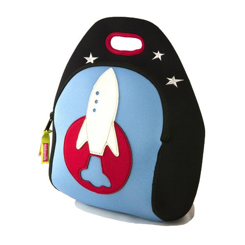 Dabbawalla Out of this World Rocket Ship Washable Lunch Bag