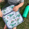 MontiiCo Insulated Lunch Bag (Ice Pack incl.) - DINOSAUR