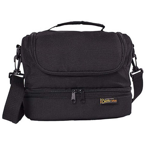 Bentology Dual Lunch Tote - Black