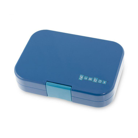Yumbox Outer Box Only: Empire Blue Panino (4 Compartments)