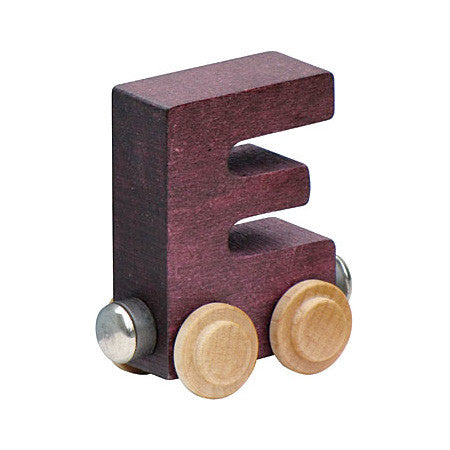 "Maple Landmark Letter ""E"" NameTrain 