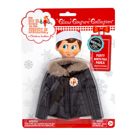 Elf On The Shelf® Claus Couture Collection: Puffy North Pole Parka