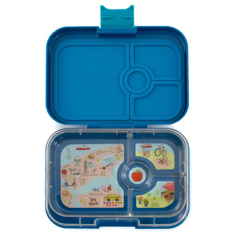 Yumbox: Empire Blue (4 Compartments)