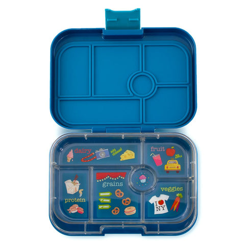 Yumbox: Empire Blue (6 Compartments)