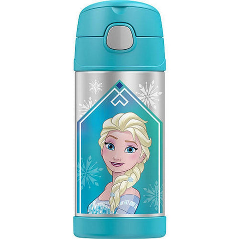 Thermos 12oz FUNtainer Straw Bottle: Frozen Aqua
