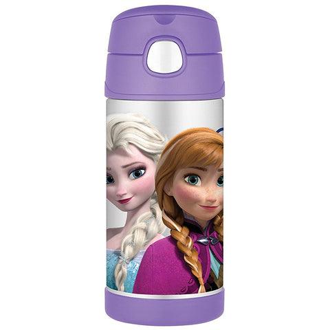 Thermos 12oz FUNtainer Straw Bottle: Frozen Purple