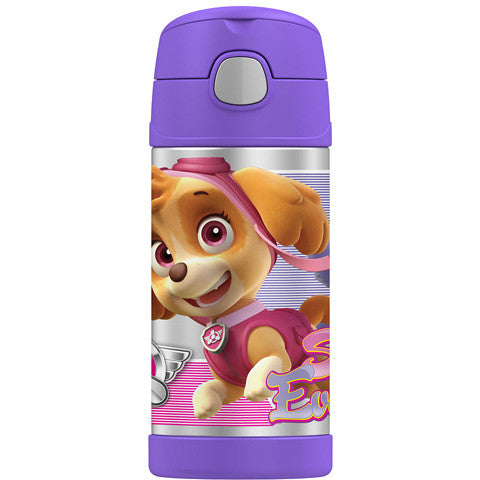 Thermos 12oz FUNtainer Straw Bottle: Paw Patrol Girl