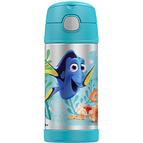 Thermos 12oz FUNtainer Straw Bottle: Finding Dory
