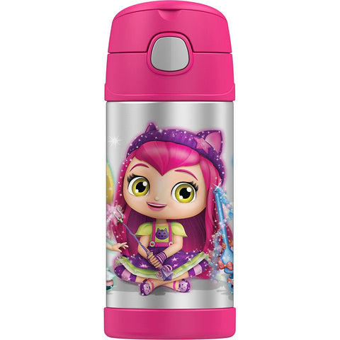 Thermos 12oz FUNtainer Straw Bottle: Little Charmers