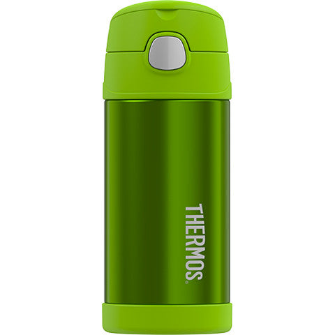 Thermos 12oz FUNtainer Straw Bottle: Lime Green
