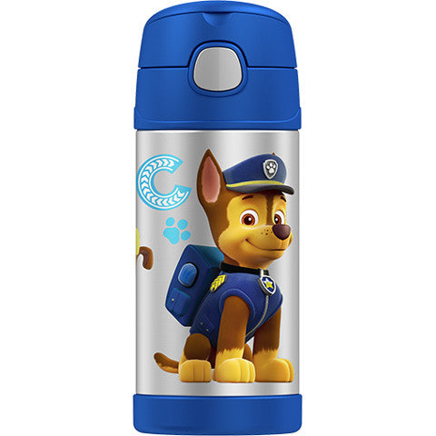 Thermos 12oz FUNtainer Straw Bottle: Paw Patrol Chase
