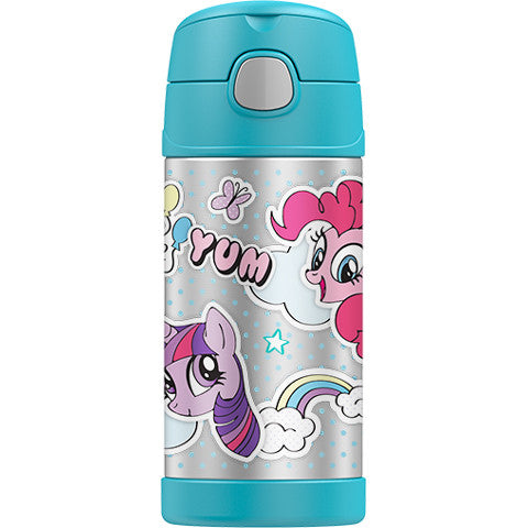 Thermos 12oz FUNtainer Straw Bottle: My Little Pony