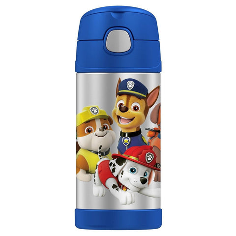 Thermos 12oz FUNtainer Straw Bottle: Paw Patrol