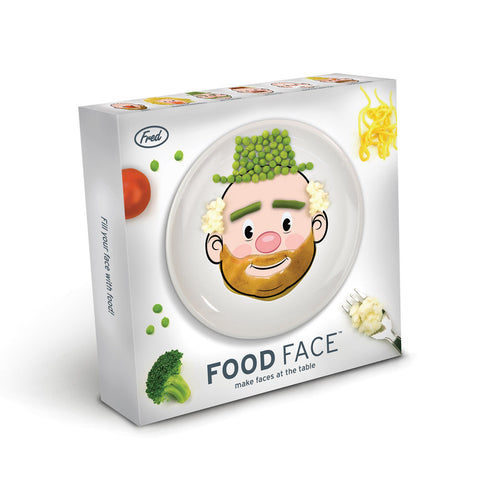 Fred & Friends Food Face Plate