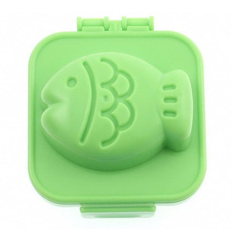 Fish-Shaped Boiled Egg Mould