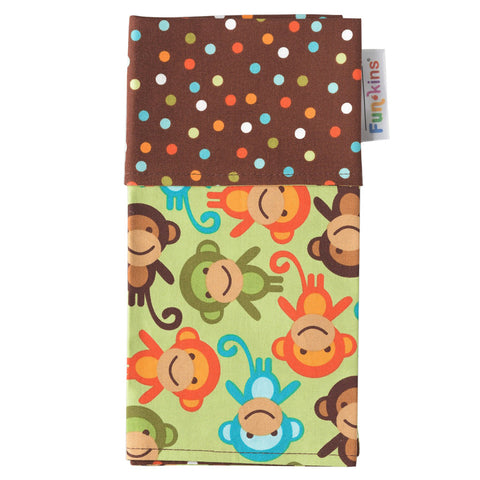 Funkins Cloth Napkin: Monkey See, Monkey Do!