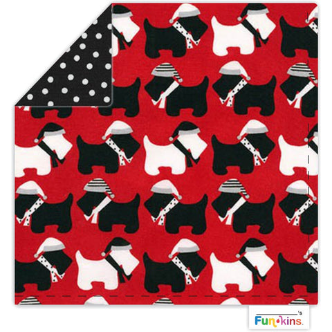Funkins Cloth Napkin: Me and my Scottie!