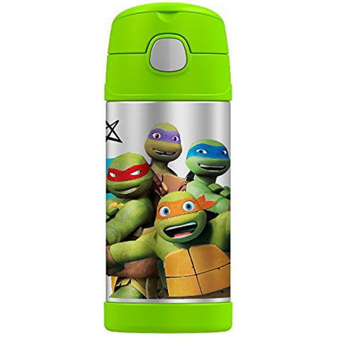 Thermos FUNtainer Bottle: TMNT