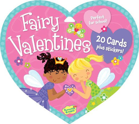 Peaceable Kingdom FAIRY Valentine Heart Pack (20 cards & 48 Stickers) | CuteKidStuff.com