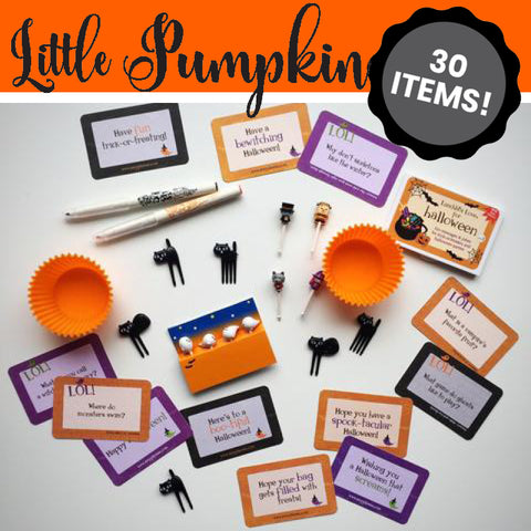 LITTLE PUMPKIN Hallowe'en Bento STARTER 30-Pack
