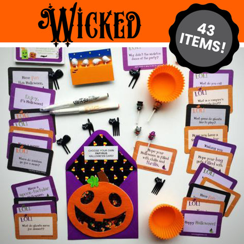 WICKED Hallowe'en Bento MEGA 43-Pack