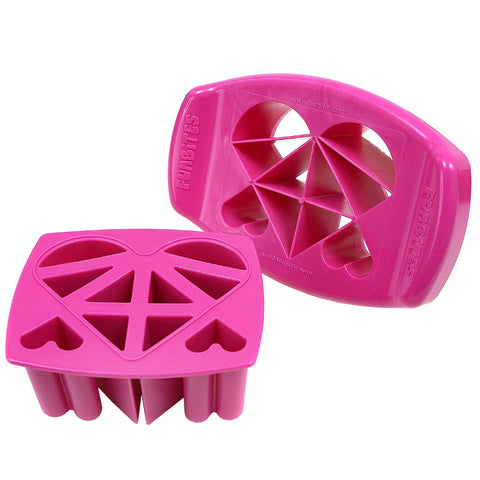 FunBites HEARTS Food Cutter - Pink