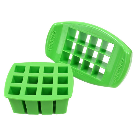 FunBites SQUARE Food Cutter - Green