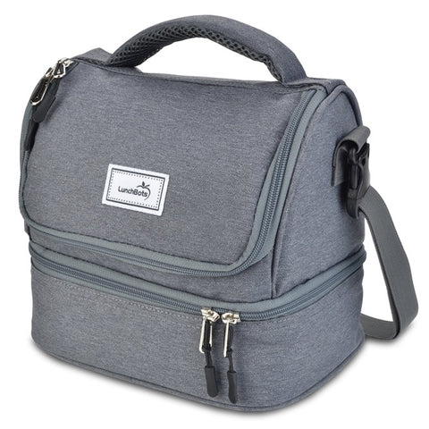 LunchBots Duplex Bag: Gray