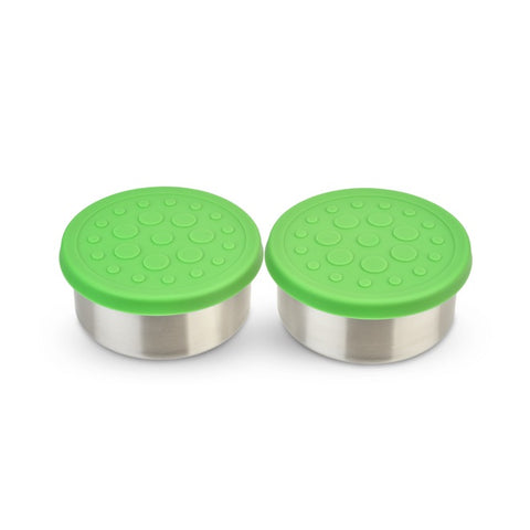 LunchBots 4.5 oz Dips (2-Pack): Green