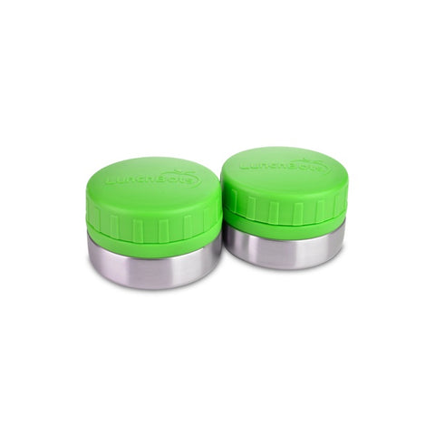 Lunchbots Rounds 4oz (2-Pack): Green
