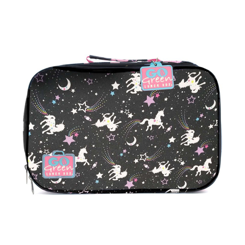 Go Green Insulated Carrying Case: Unicorn