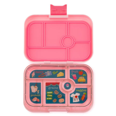 Yumbox: Gramercy Pink (6 Compartments)