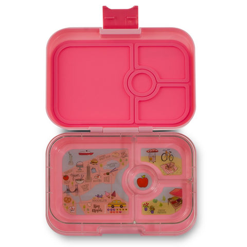 Yumbox: Gramercy Pink (4 Compartments)