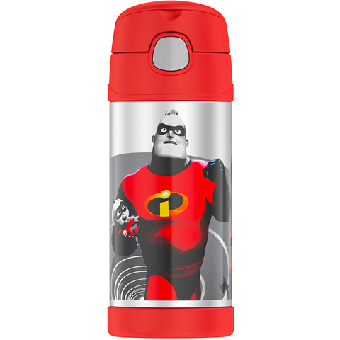 Thermos 12oz FUNtainer Straw Bottle: Incredibles 2