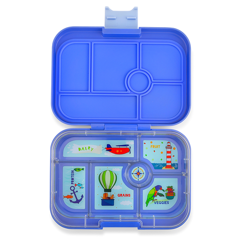Yumbox: Jodhpur Blue (6 Compartments)