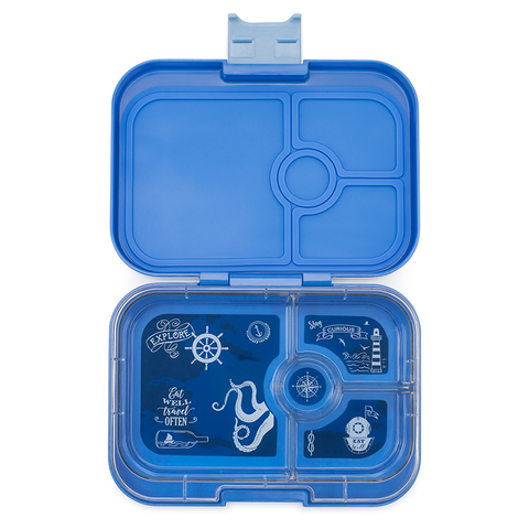 Yumbox: Jodhpur Blue (4 Compartments)