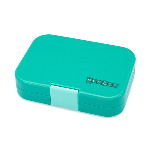 Yumbox Outer Box Only: Kashmir Aqua Panino (4 Compartments)