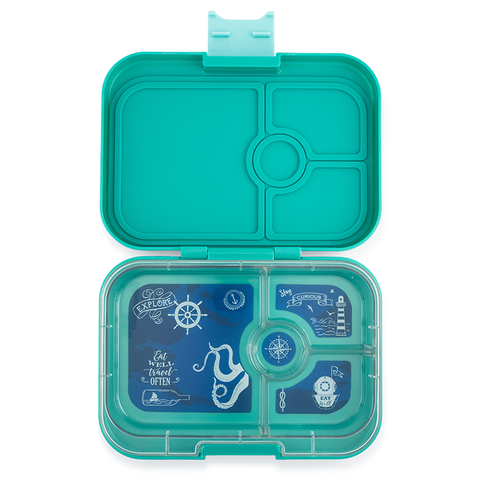 Yumbox: Kashmir Aqua (4 Compartments)