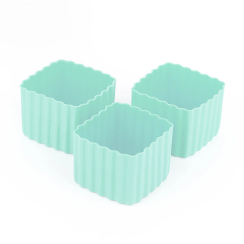 LLBC Square Bento Cups - Mint (Set of 3)