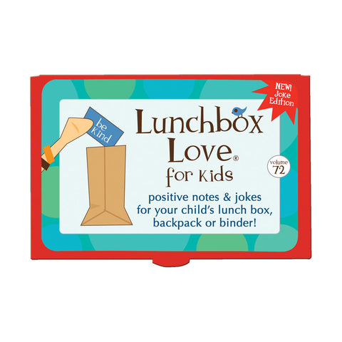 Lunchbox Love® For Kids: Volume 72 (JOKES)