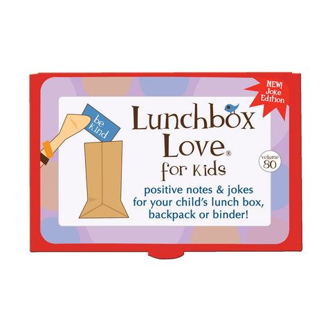 Lunchbox Love® For Kids: Volume 80 (JOKES)