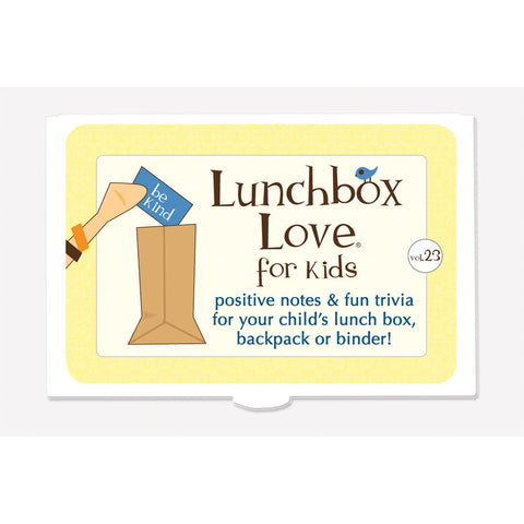 Lunchbox Love® For Kids: Volume 23