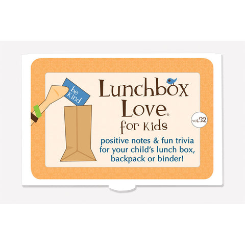 Lunchbox Love® For Kids: Volume 32