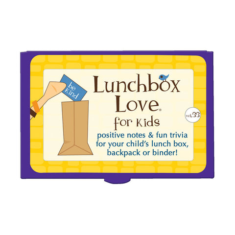 Lunchbox Love® For Kids: Volume 33