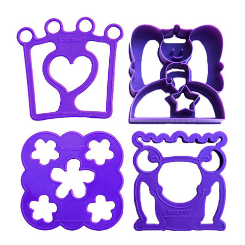 Lunch Punch Set of 4 Sandwich Cutters: SANDWISHES