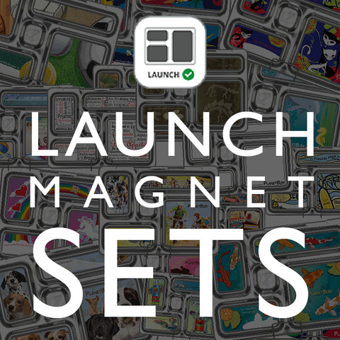 Magnet Set for PlanetBox Launch: Assorted Designs Available