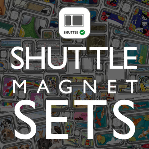 Magnet Set for PlanetBox Shuttle: Assorted Designs Available