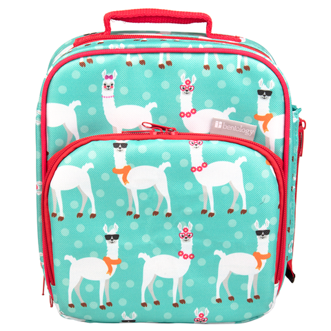 Bentology Insulated Lunch Tote: Llama